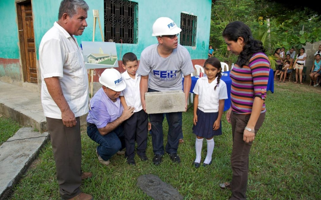 Inaugural Breaking Ground Event in Honduras: Building Together