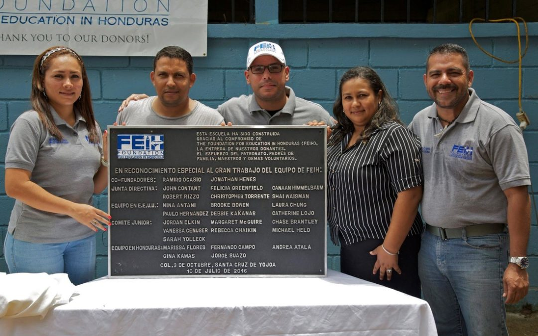 Inaugural Ribbon Cutting Event in Honduras: Building Together